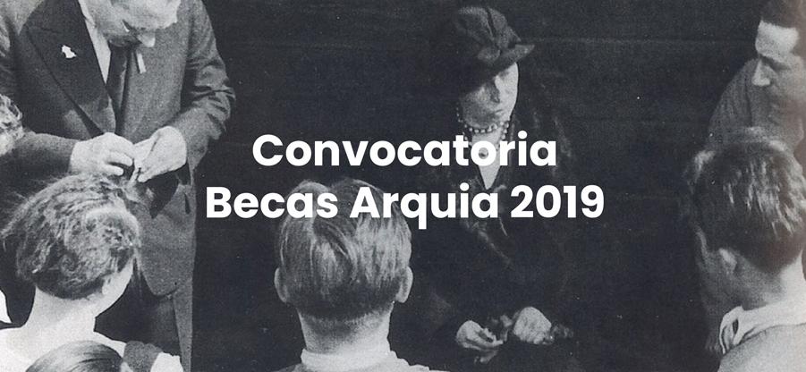 Convocadas las becas Arquia 2019