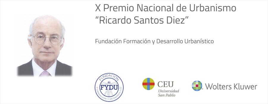Convocado el Premio Nacional de Urbanismo de la Fundación FYDU