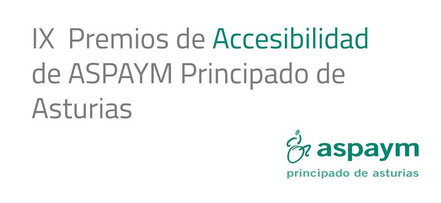 Convocados los Premios de Accesibilidad de ASPAYM Principado de Asturias