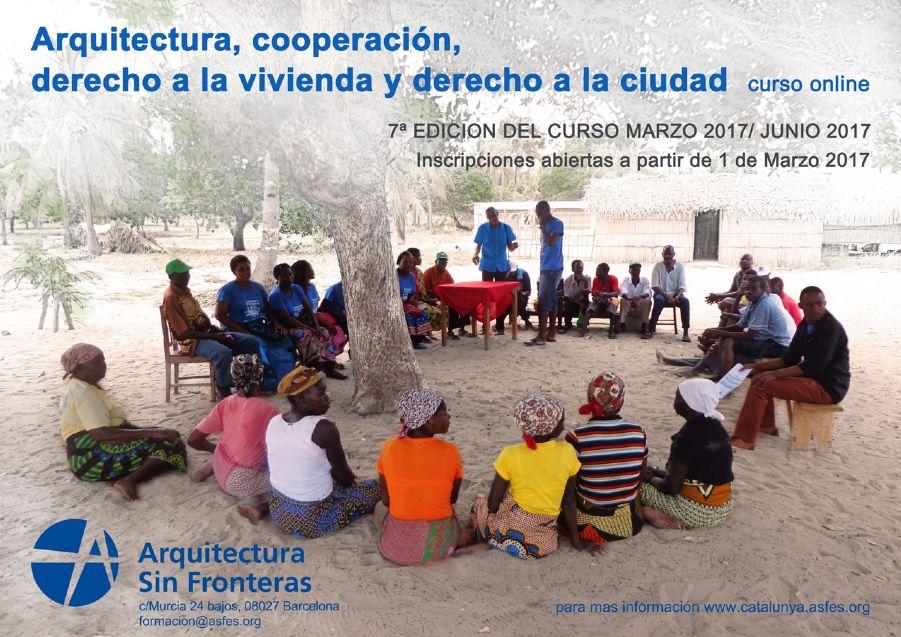 Curso Arquitectura, cooperación y derecho a la vivienda y la ciudad