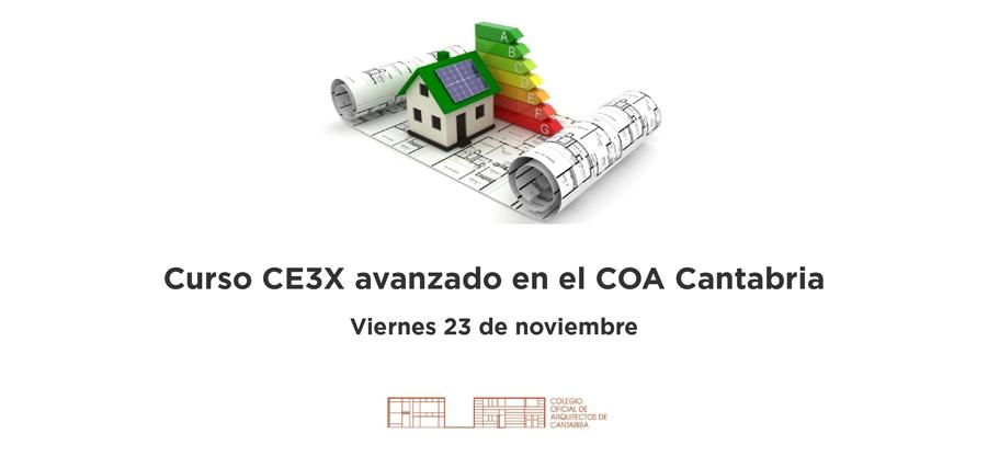 Curso CE3X avanzado en el COA Cantabria