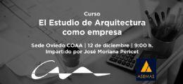 Curso El Estudio de Arquitectura como empresa