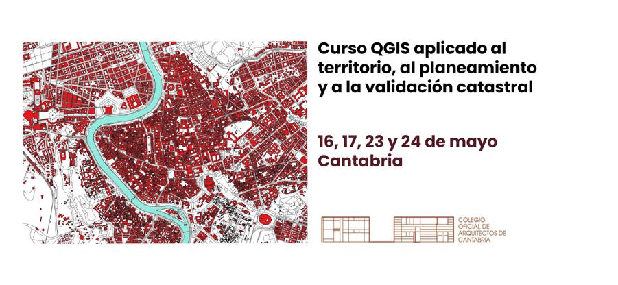 Curso QGIS aplicado al territorio, al planeamiento y a la validación catastral