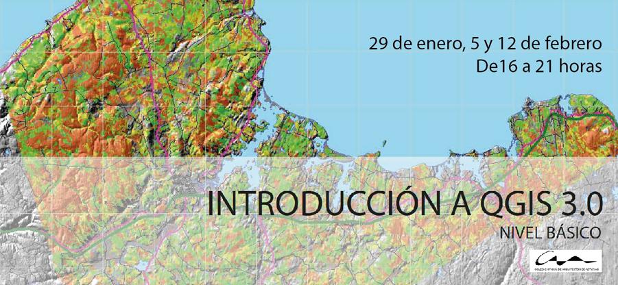 Curso QGIS sistema de información geográfica en el COAA