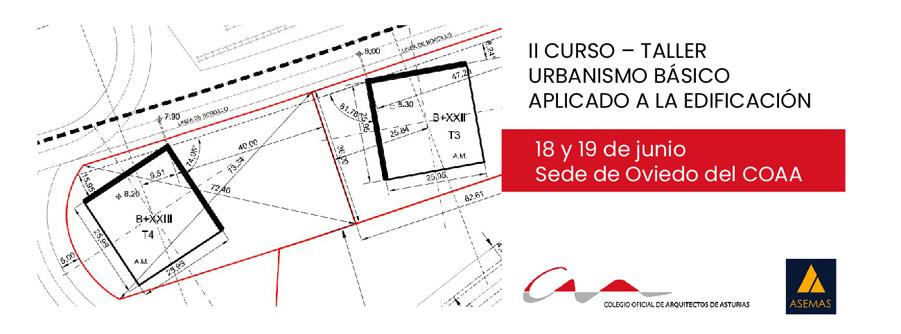 Curso Taller sobre urbanismo aplicado a la edificación