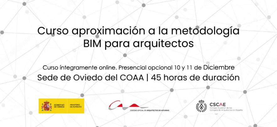Curso aproximación a la metodología BIM para arquitectos