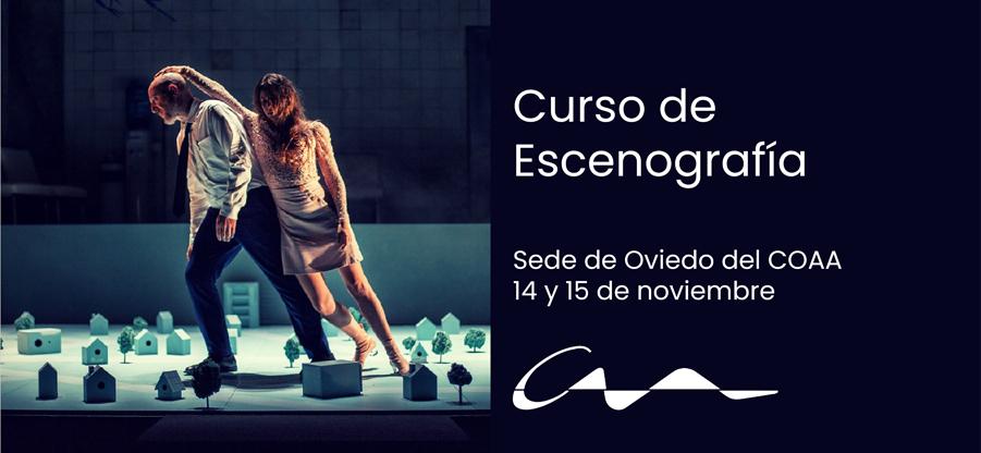 Curso de Escenografía en la sede de Oviedo del COAA