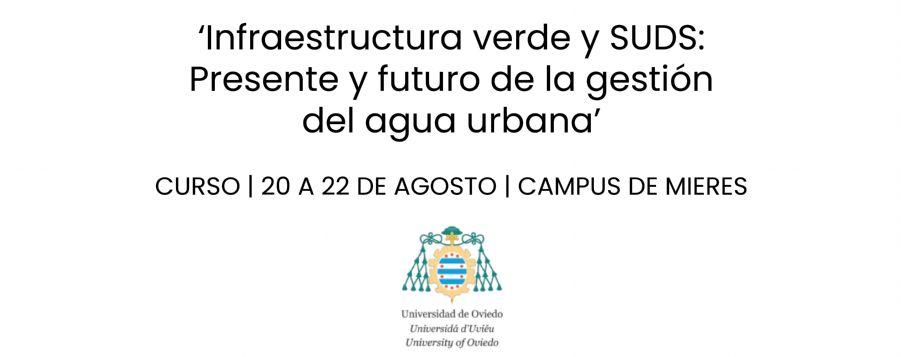 Curso sobre drenaje sostenible y gestión del agua