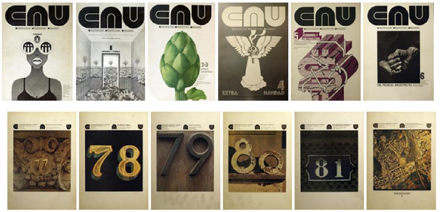 Digitalización de la revista CAU editada entre 1970 y 1982