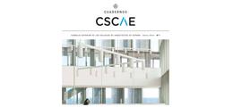 Disponible el primer número de Cuadernos CSCAE