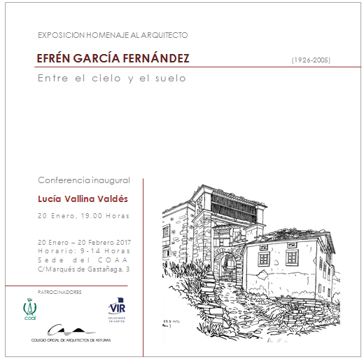 Efrén García Fernández. Entre el cielo y el suelo