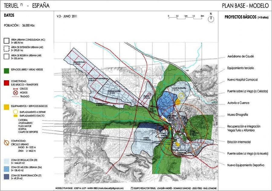 El ´Plan Base´ en la planificación de ciudades intermedias