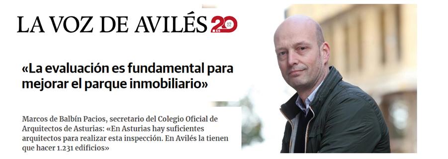 El COAA en los medios: Entrevista en La Voz de Avilés