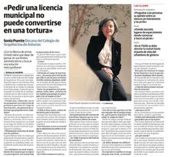 El COAA en los medios - Entrevista en El Comercio