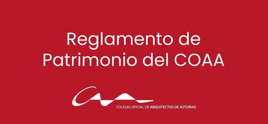 El COAA tendrá listo el inventario de su patrimonio antes del final de 2020