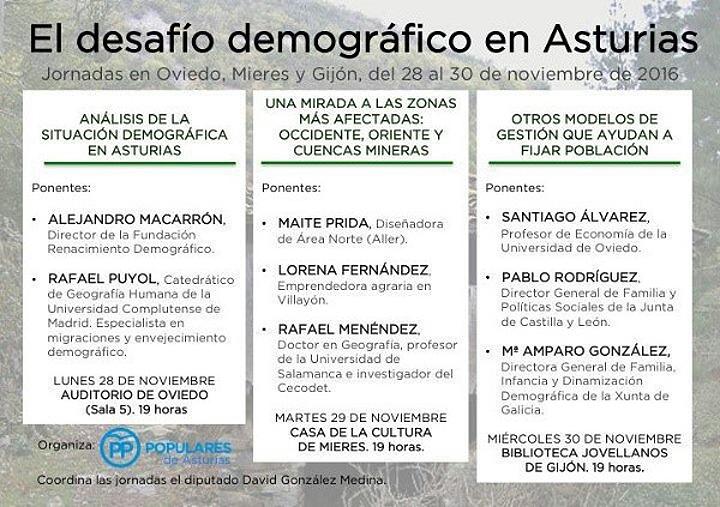 El desafío demográfico en Asturias