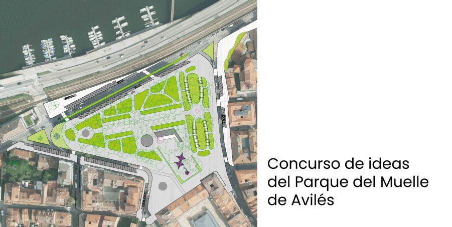 El futuro del Parque de El Muelle de Avilés
