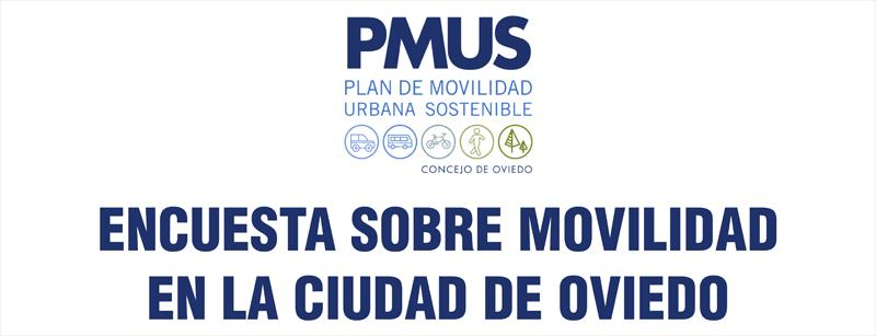Encuesta online sobre el PMUS de Oviedo