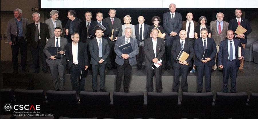 Entrega de los Premios de Arquitectura y Urbanismo Español 2017