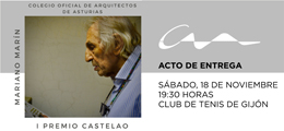 Entrega del I Premio Castelao a Mariano Marín