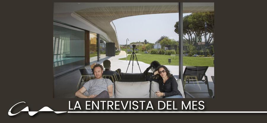Entrevista del mes a Víctor Longo y Ester Roldán