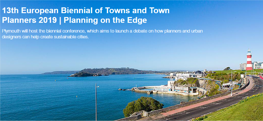 Envío de comunicaciones a la 13th Biennial of European Towns and Town Planners