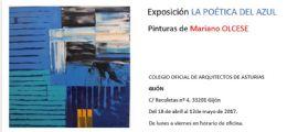 Exposición La Poética del Azul en Gijón