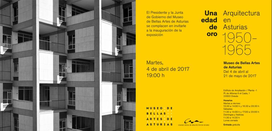 Exposición Una Edad de Oro: Arquitectura en Asturias 1950-1965