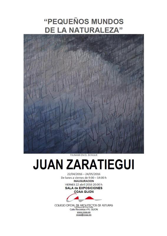 Exposición ´Pequeños mundos de la naturaleza´ de Juan Zaratiegui
