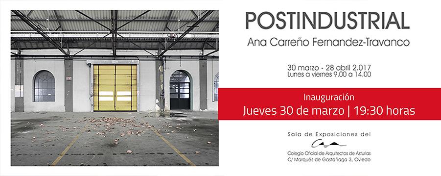 Exposición de Ana Carreño Fernández-Travanco sobre el Patrimonio Industrial Asturiano