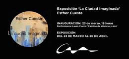 Exposición de Esther Cuesta en el COAA