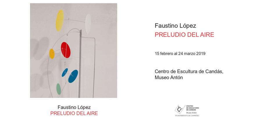 Exposición de Faustino López en Candás