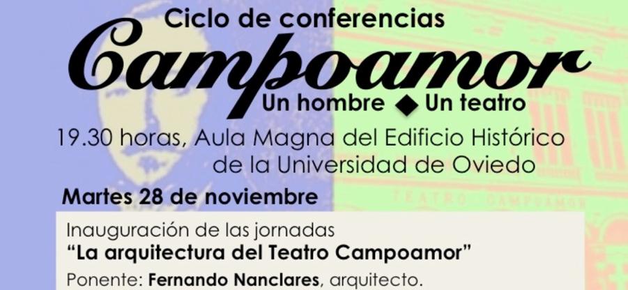 Fernando Nanclares ofrece una conferencia sobre `La arquitectura del Teatro Campoamor`