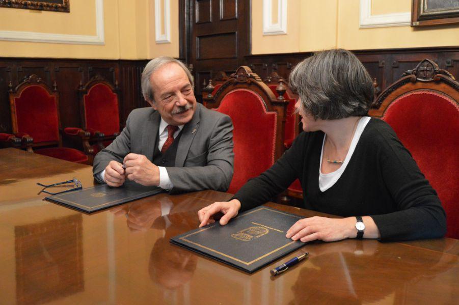 Firma de Convenio con el Ayuntamiento de Oviedo