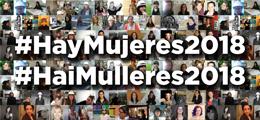 HayMujeres2018, nueva campaña de visibilización promovida por el COA Galicia