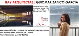 Hay Arquitectas 2016. Guiomar Zapico