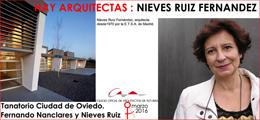 Hay Arquitectas 2016. Nieves Ruiz