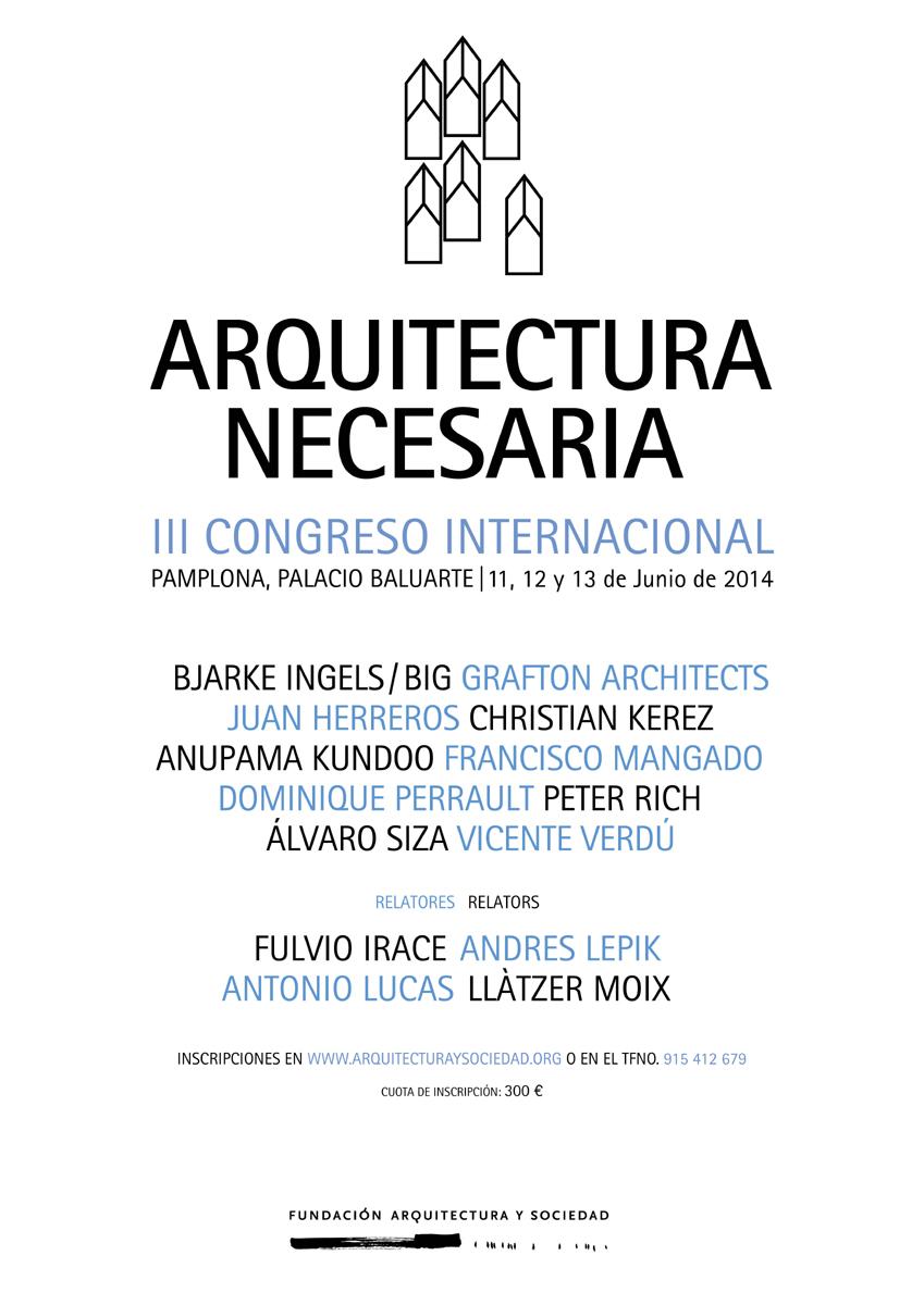 III Congreso Arquitectura Necesaria