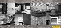 IV Congreso Pioneros de la Arquitectura Española Moderna