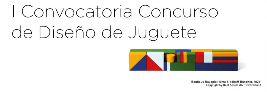 I Convocatoria Concurso de Diseño de Juguete