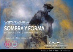Inauguración exposición de escultura ´Sombra y Forma´ (Carmen Castillo)