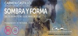 Inauguración exposición de escultura `Sombra y Forma` (Carmen Castillo)