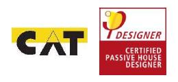 Recordatorio de la celebración en el COAA del Curso CPD 2015 (Passivehaus)