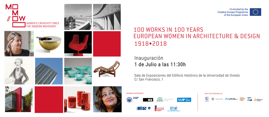 Invitación: MoMoWo European Women in Architecture and Design