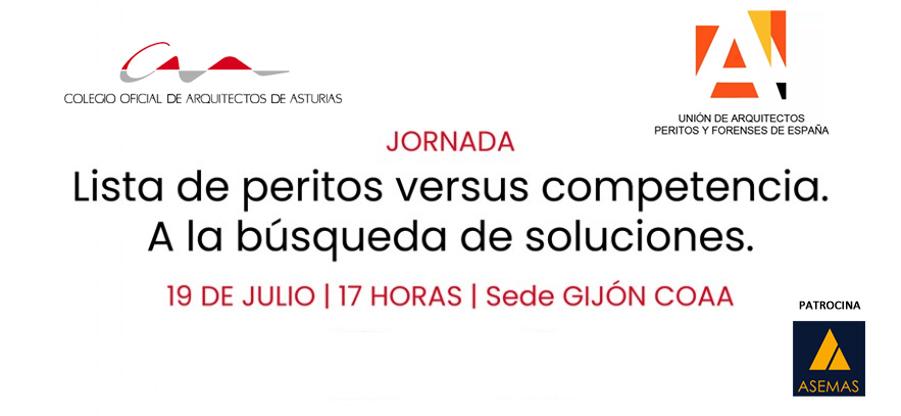 Jornada `Lista de peritos vs. Competencia` en Gijón