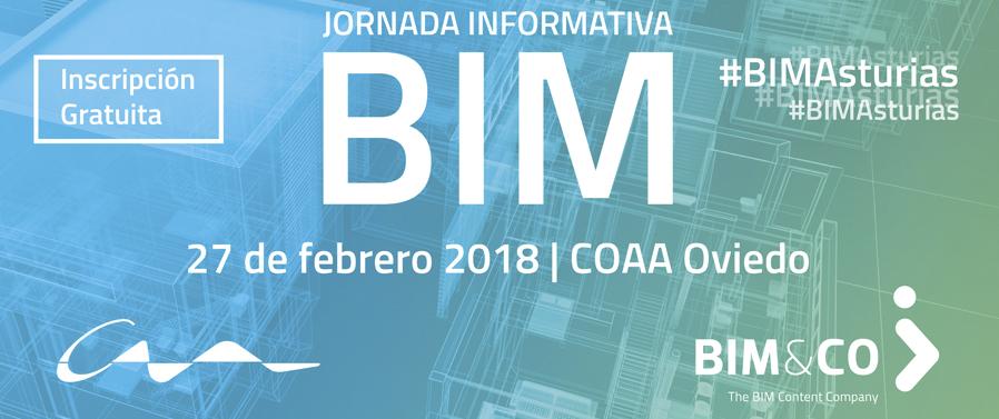 Jornada BIM gratuita en el Colegio Oficial de Arquitectos de Asturias