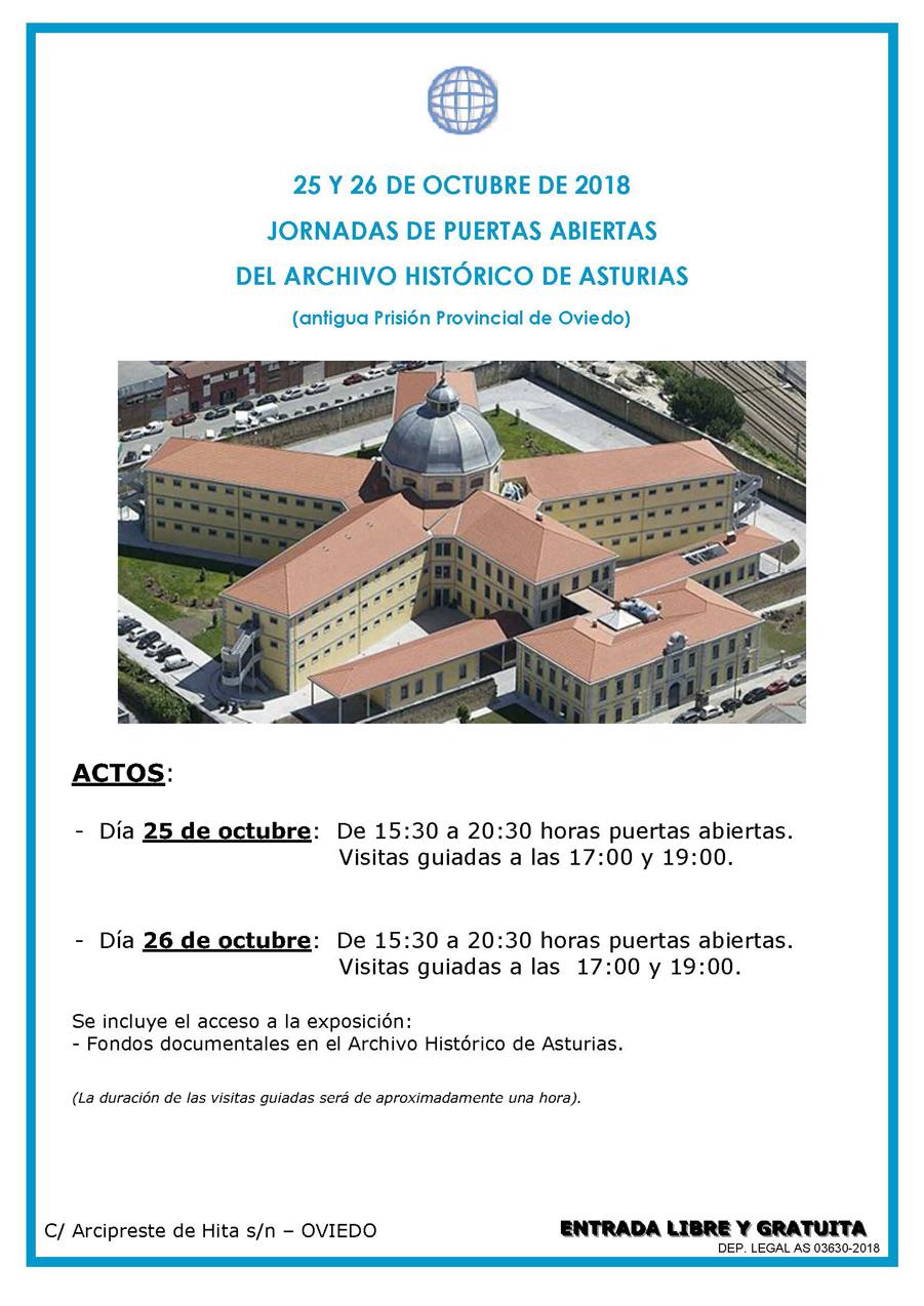 Jornada de puertas abiertas del Archivo Histórico de Asturias