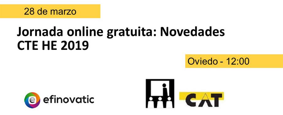 Jornada online gratuita sobre el nuevo DB-HE ofrecida por Efinovatic