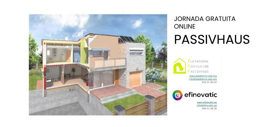 Jornada online sobre Passivhaus el 25 de abril
