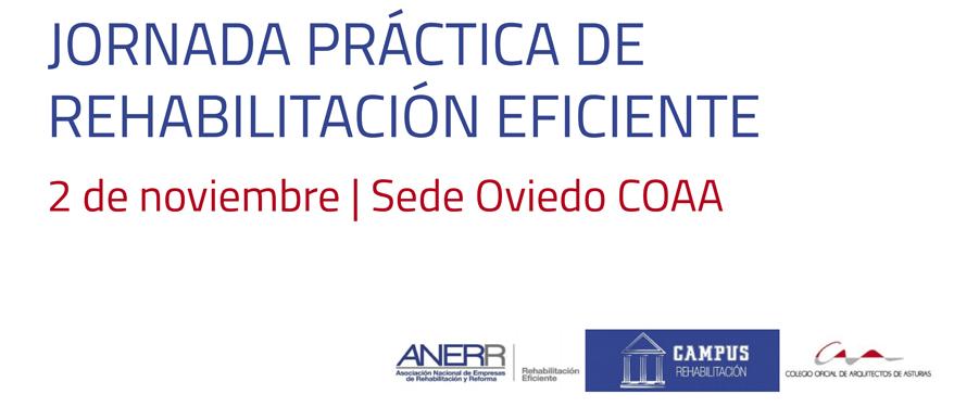 Jornada práctica del Campus de la Rehabilitación en el COAA